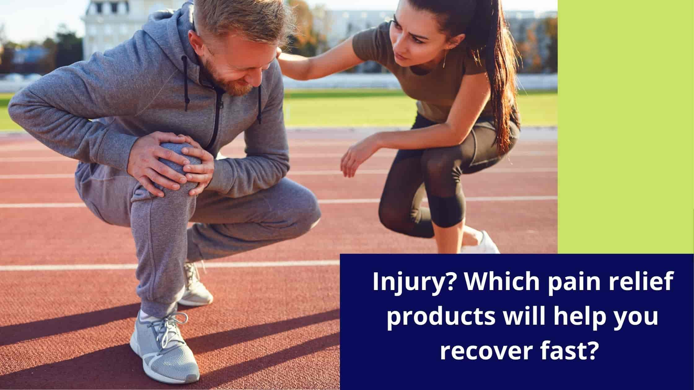 Best drugfree pain relief medication after an injury