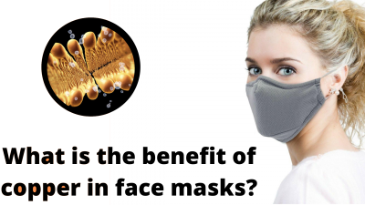 What is the benefit of copper in face masks?