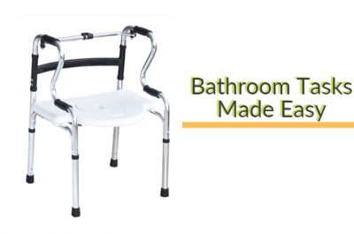 The best mobility aid to keep those living with Parkinson's safe in the bathroom