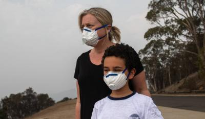 Best Face Mask For Bushfire Smoke - Smoke Protection Australia