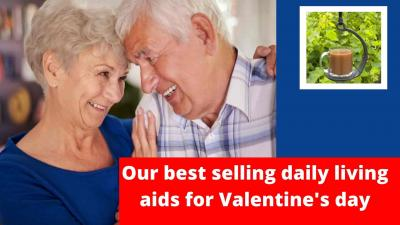 Our best selling daily living aids for Valentine's day
