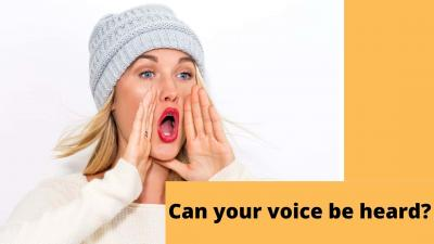 Can your voice be heard?