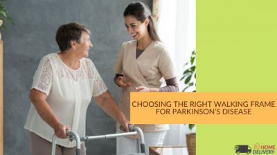 Choosing the right walking frame for Parkinson's Disease