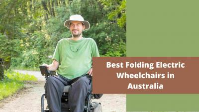 Best Folding Electric Wheelchairs in Australia