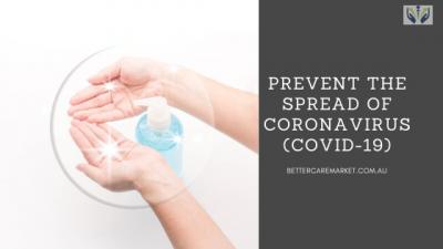 Prevent The Spread of Coronavirus (COVID-19)