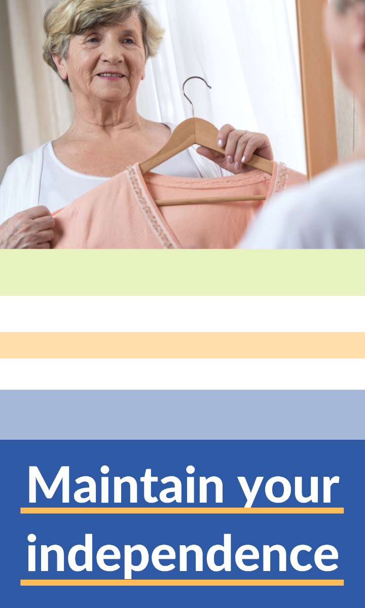assistive aids to help you get dressed for those who struggle with movement