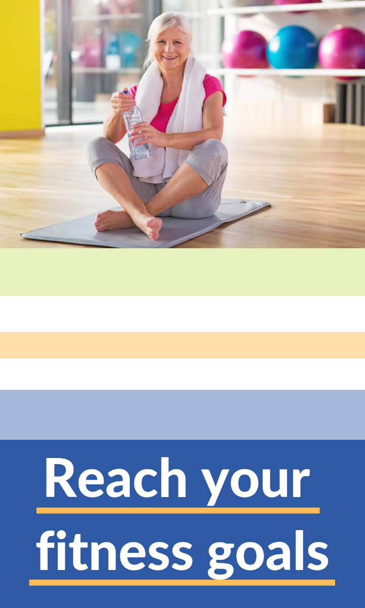 Stay fit and improve your overall well being with our elderly fitness equipment