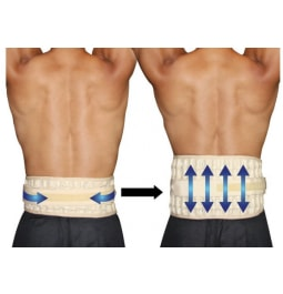 inflatable back brace by dr Ho's