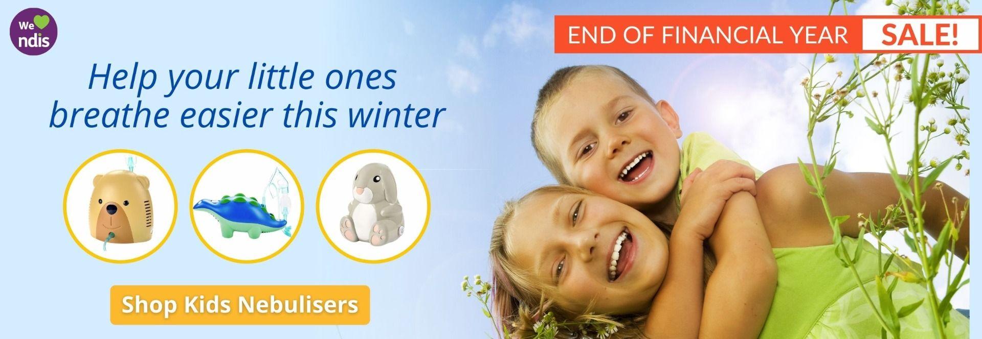 End of financial year sale - kids nebulisers