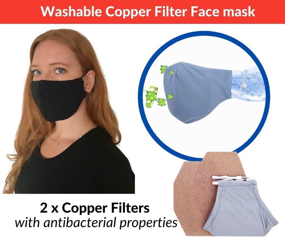 Dr.Hofmann Copper Filter Face Mask
