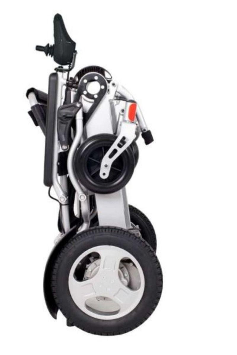 Folded Electric Wheelchair EagleHD_bettercaremarket