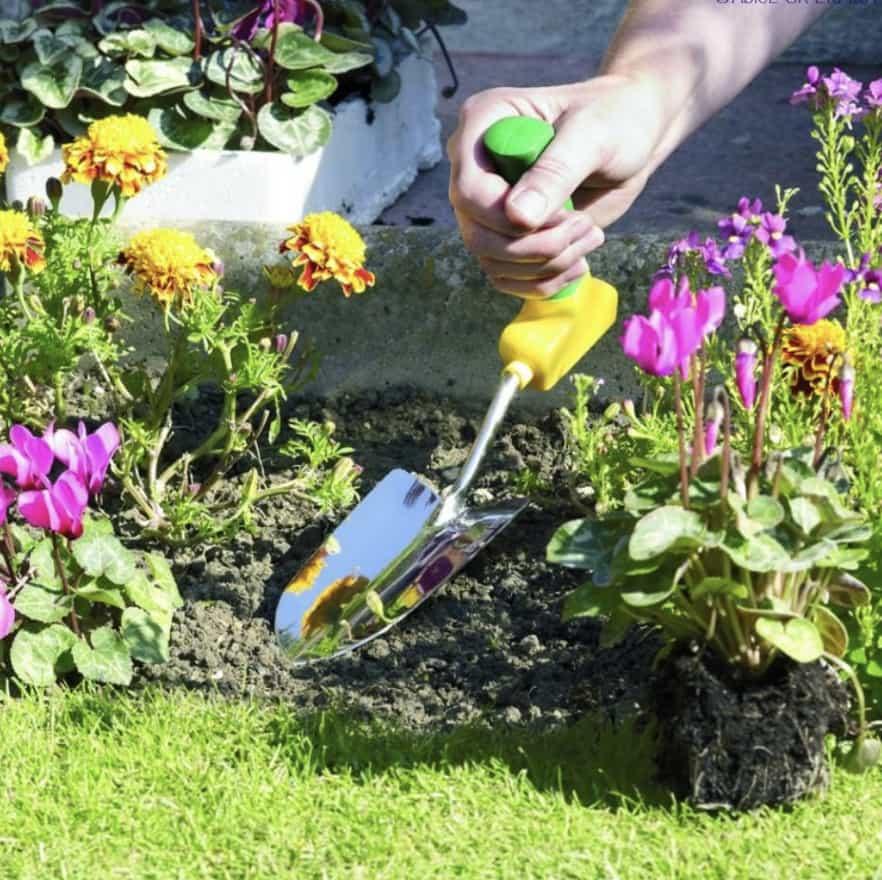 Easi-grip garden tools