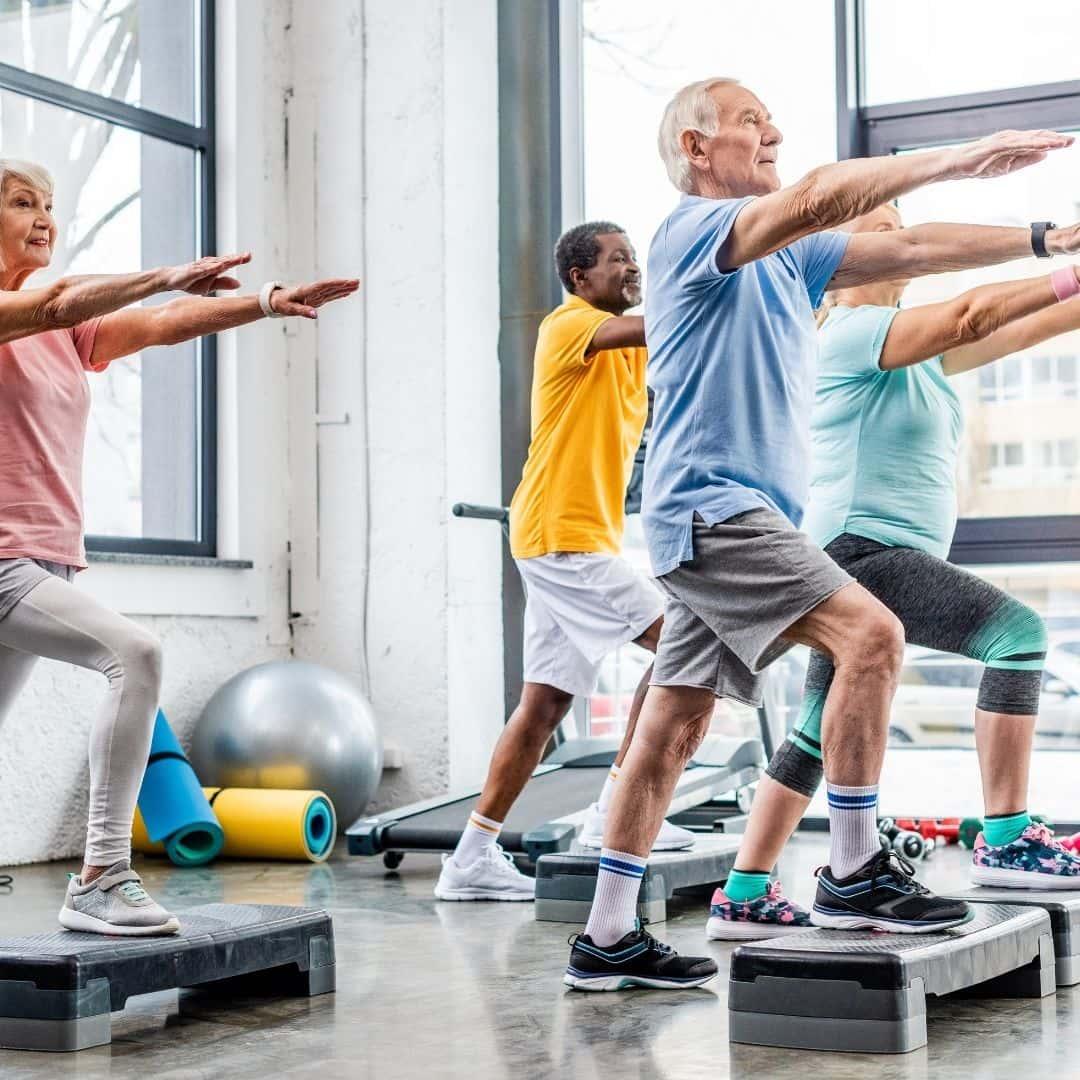 Exercise for senior diabetics