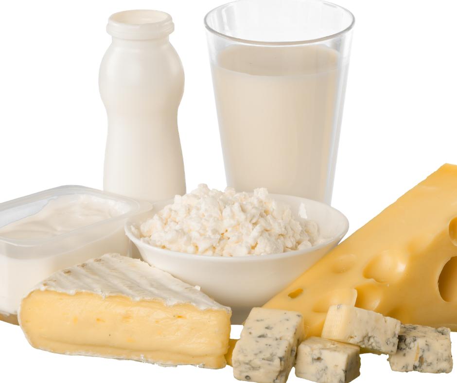 milk products for calcium