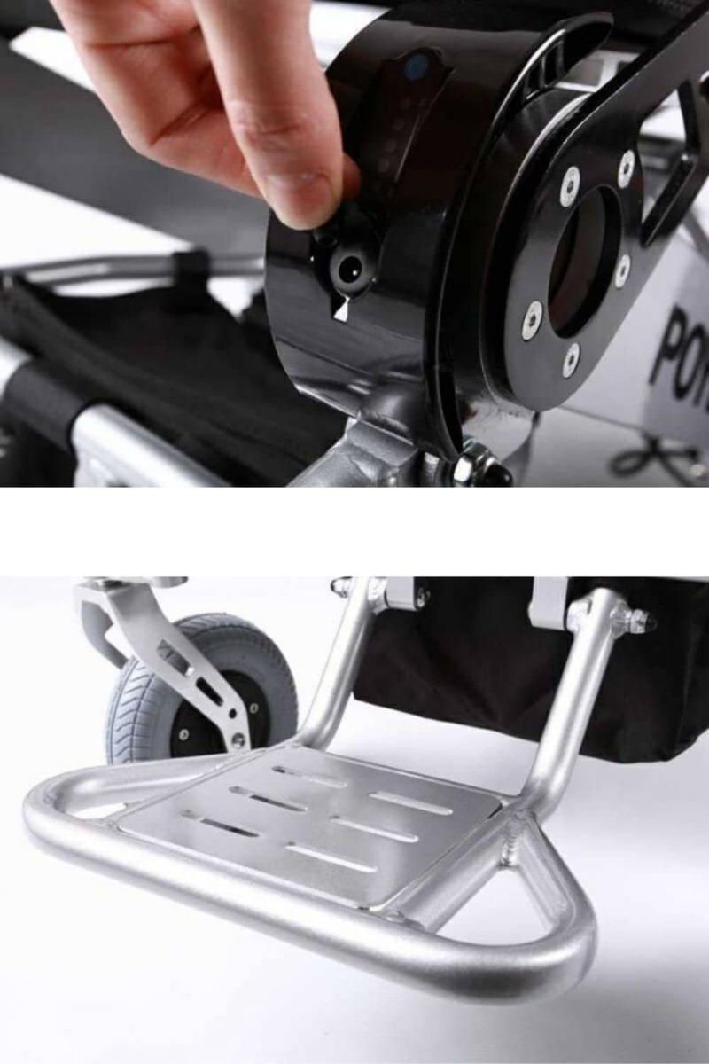Features Folding Electric Wheelchair EagleHD