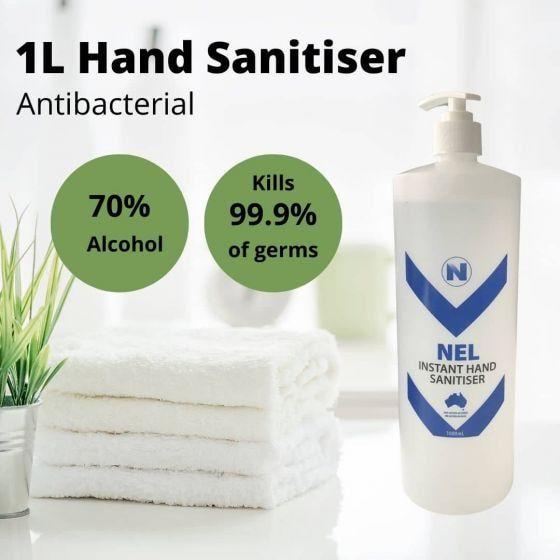 Hand sanitiser, antibacterial and made in Australia