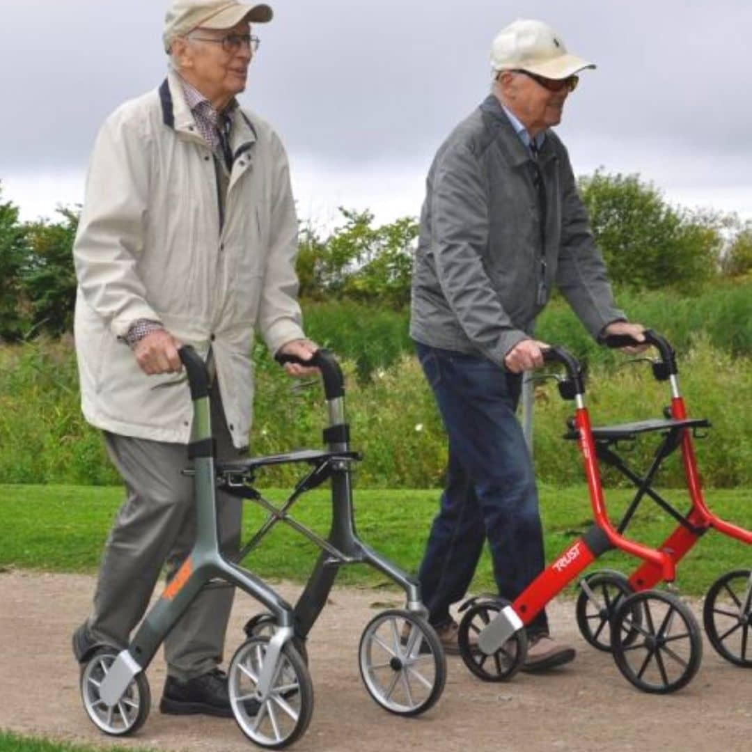 Lets fly Rollator for parkinson's