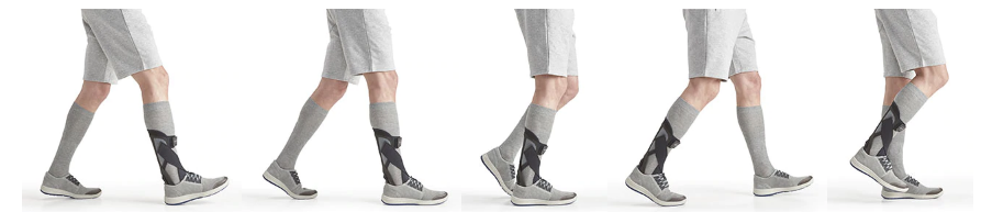 Efficient gait of the Foot Drop Ankle and Foot Brace