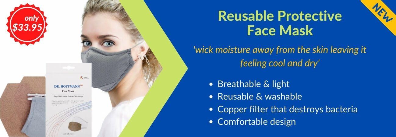 washable copper filter face mask lite version dr hoffmann