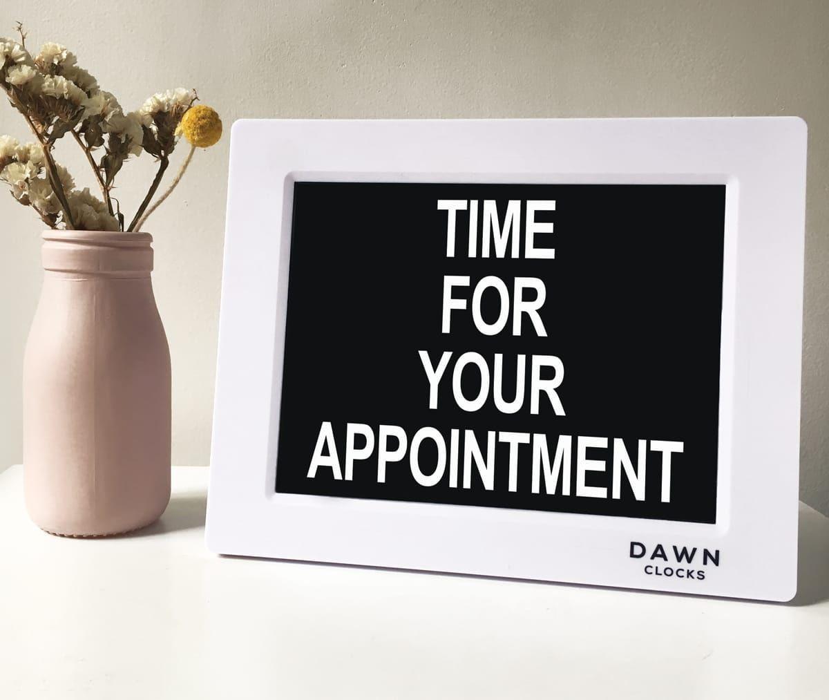 Dementia clock and reminder