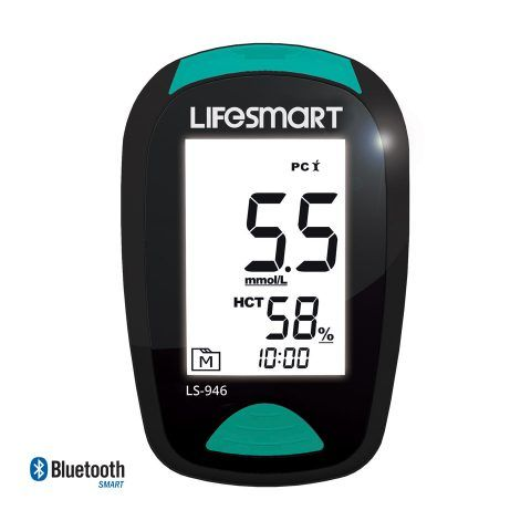 Smart Blood Glucose Plus Ketone Monitor Bluetooth