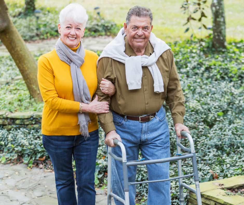 Mobility aid for Parkinson's Disease