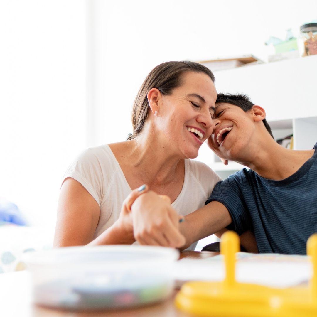 Mum and son for Steptember_bettercaremarket