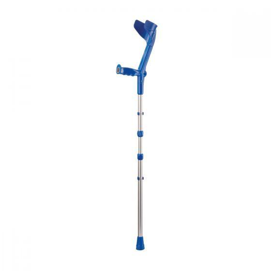 Rebotec Travel Folding Crutches