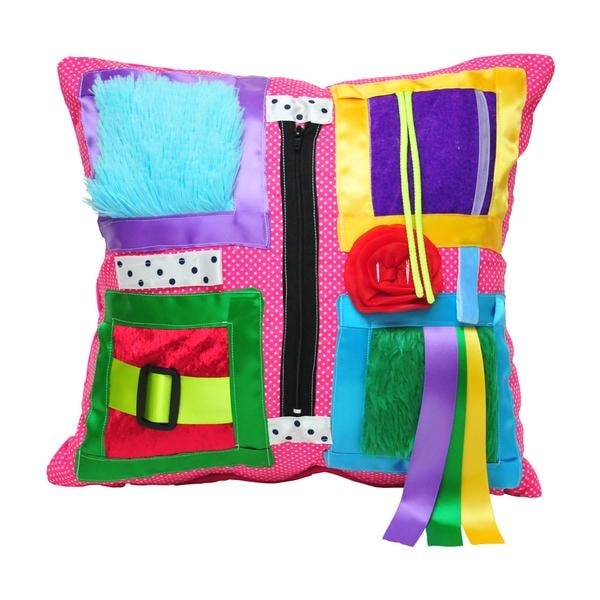 Sensory cushion specific for dementia
