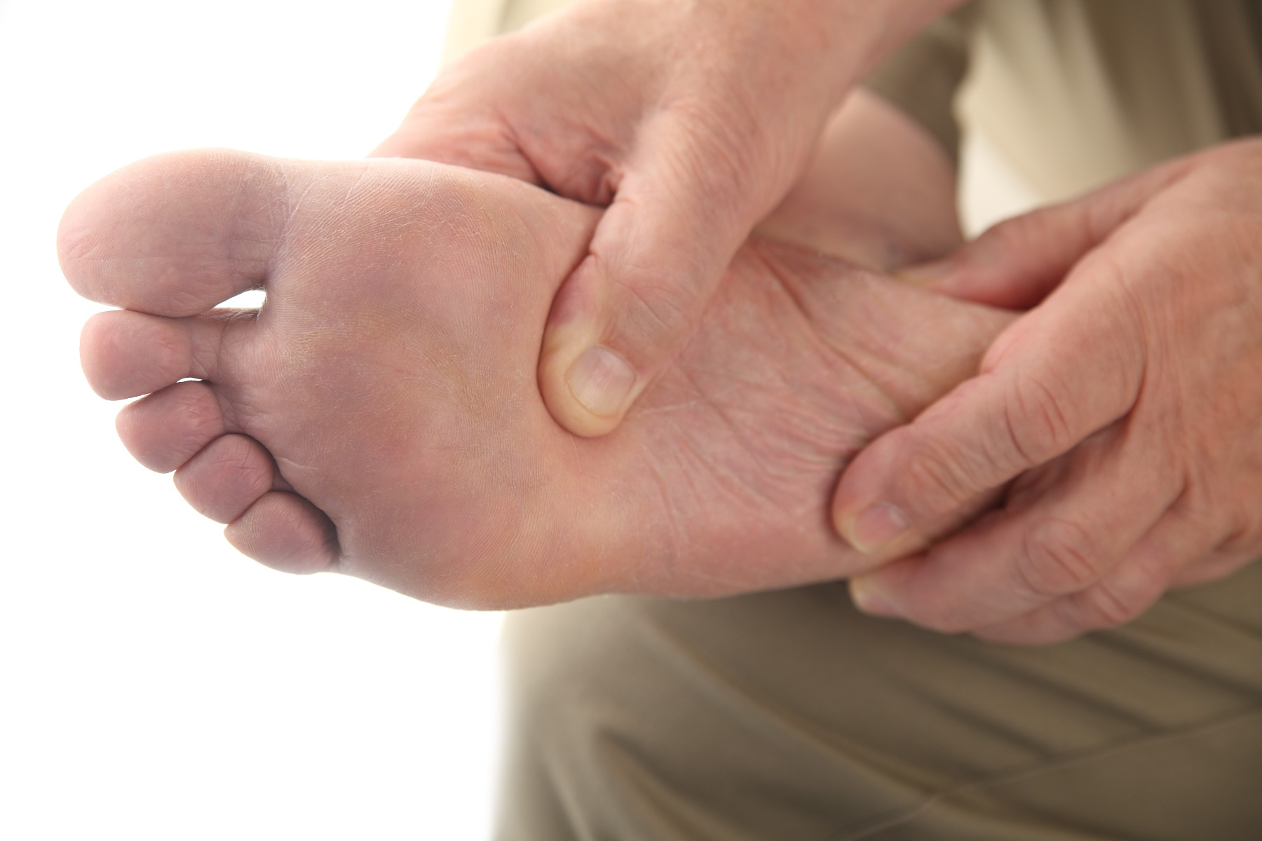 Foot care for diabetic