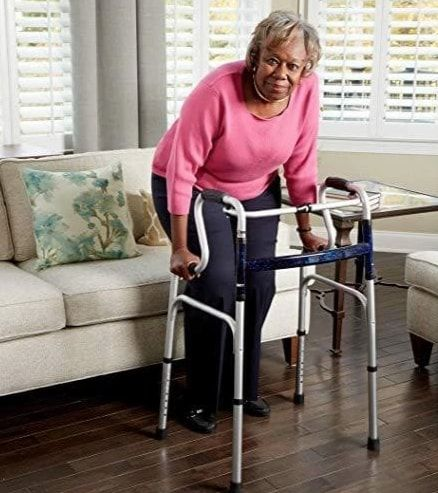 Multifunctional chair as stand-assist